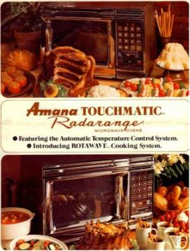 Amana RadaRange Touchmatic