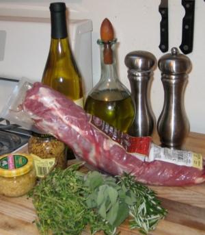 Herb Encrusted Pork Tenderloin
